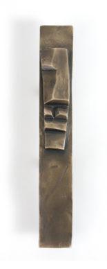 Brancusi Plate Minds Bronze