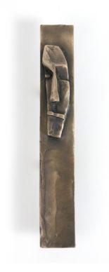 Giacometti Plate Minds Bronze